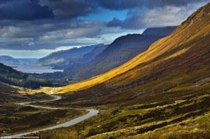 Glen Docherty looking towards Loch Maree