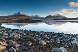 The Torridon Hills at Upper Loch Torridon credit: Kenny Lam / VisitScotland
