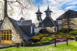 Strathisla distillery in Keith